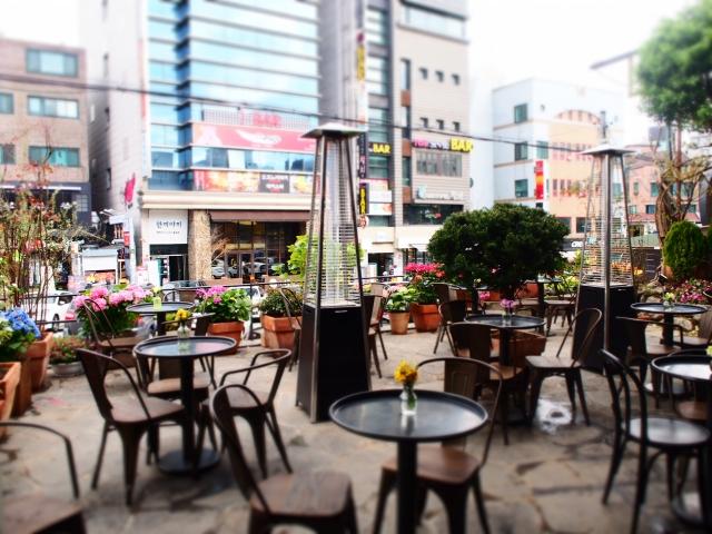 韓国カフェ画像